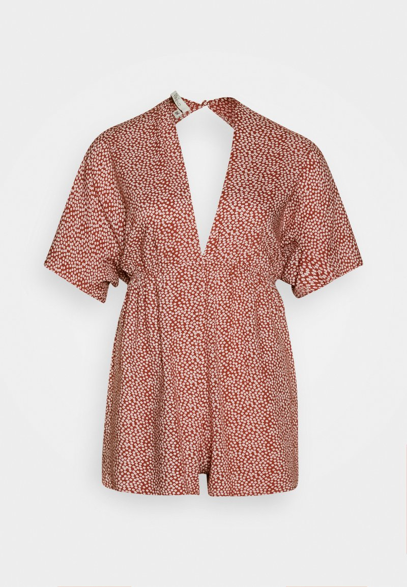 Nly by Nelly - FRONT KNOT  - Jumpsuit - orange