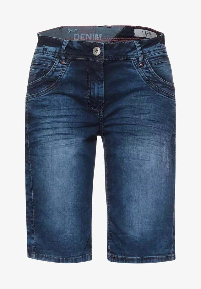 Jeansshorts - m blue denim