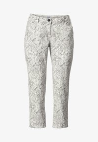 Sara Lindholm by HAPPYsize - Trousers - white - 4