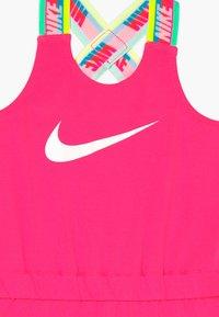 Nike Sportswear - GIRLS RAINBOW ROMPER BABY - Kombinezon - hyper pink - 3