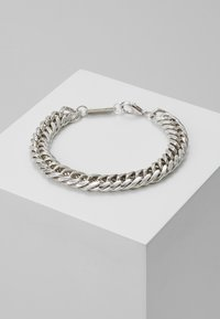 Wild For The Weekend - HEAVY LINK BRACELET - Náramek - silver-coloured - 0