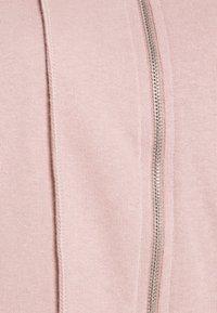 Missguided - CROP ZIP HOODY JOGGER SET - Zip-up sweatshirt - pink - 5