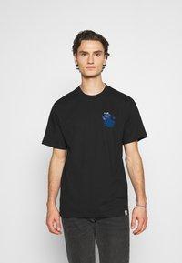 Carhartt WIP - SOCIETY - Print T-shirt - black - 0