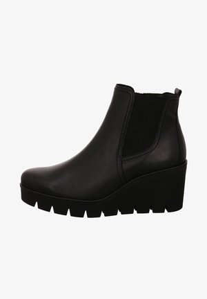Wedge Ankle Boots - schwarz