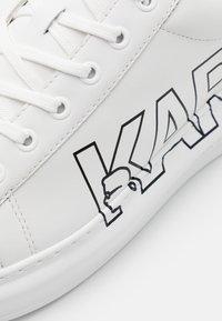 KARL LAGERFELD - KAPRI MENS LOGO  - Trainers - white - 5