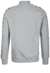 Hummel - CLASSIC BEE AAGE - Sweatjakke /Træningstrøjer - grey/black - 1