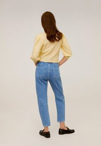 Mango - SLOUCHY - Straight leg jeans - blue - 2
