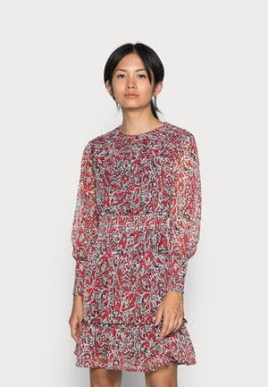 ONLIRENA LIFE DRESS - Day dress - urban reda