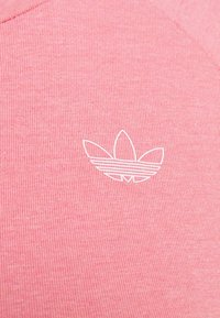 adidas Originals - LONG SLEEVE TEE - Long sleeved top - hazy rose/white