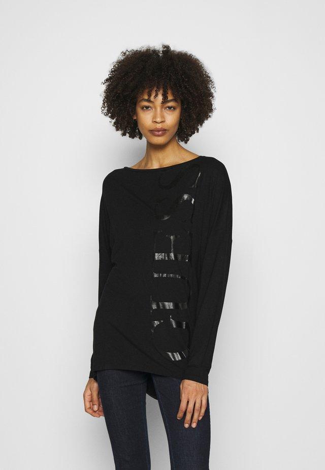 KAROLINA - Bluzka z długim rękawem - black