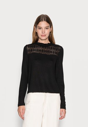 VMMALENA - Long sleeved top - black