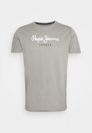 EGGO  - Print T-shirt - moon mist