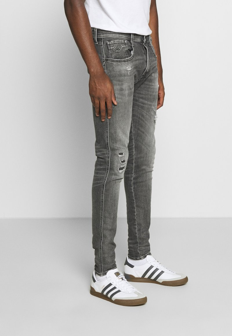 Replay - BRONNY AGED - Jeans Skinny Fit - medium grey
