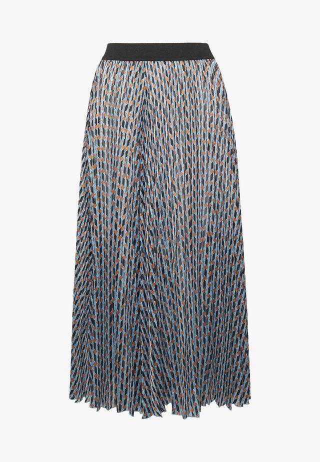 JELA - A-line skirt - bleu
