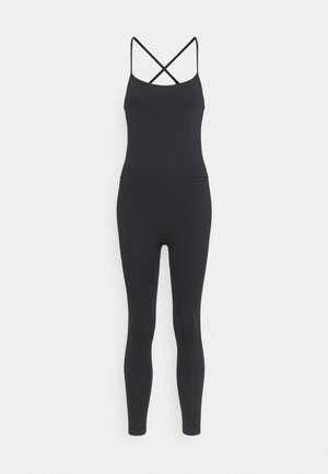 LIFESTYLE SEAMLESS YOGA ONESIE - Turnpak - black
