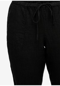 Triangle - RELAXED FIT - Trousers - black - 2