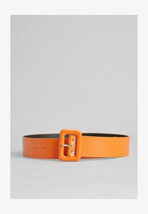 MIT KONTRASTFARBE - Belt - orange