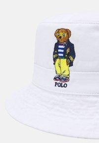 Polo Ralph Lauren - NEW BOND BUCKET HAT UNISEX - Hatt - white - 3