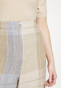 MRZ - KARO PANT - Kalhoty - brown - 6