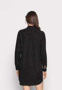 Vero Moda - VMSILLA SHORT DRESS - Shirt dress - black - 3