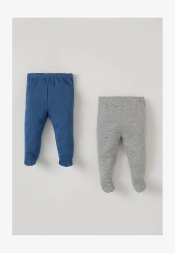 2 PACK - Trousers - navy