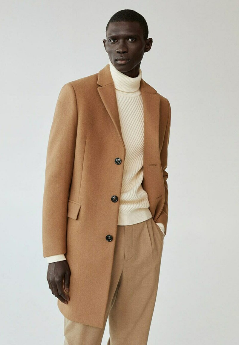 Mango - ARIZONA - Classic coat - mittelbraun