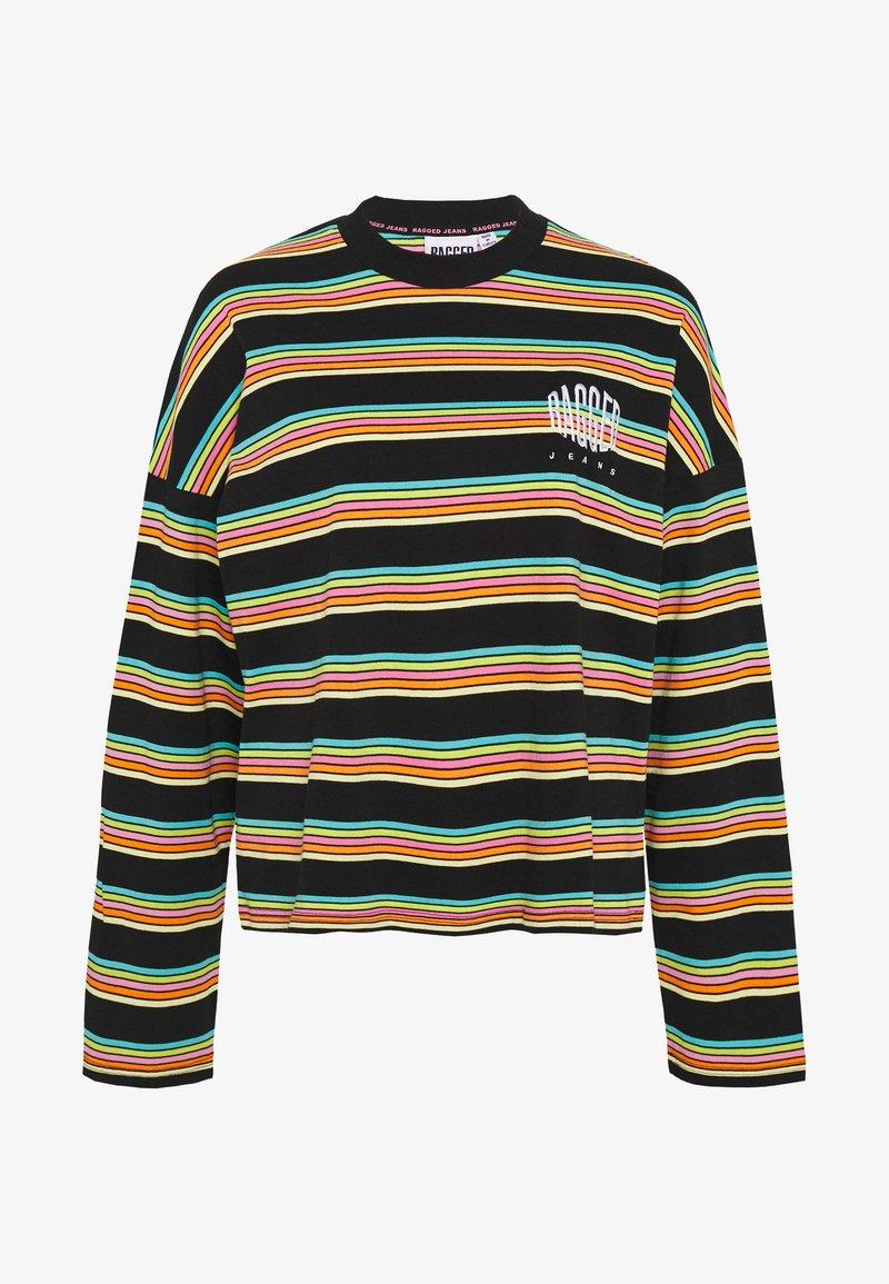 The Ragged Priest - SKATER - Long sleeved top - black/rainbow