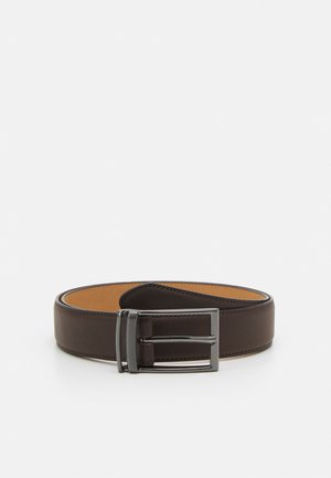 LOOP BUCKLE BELT - Pásek - brown