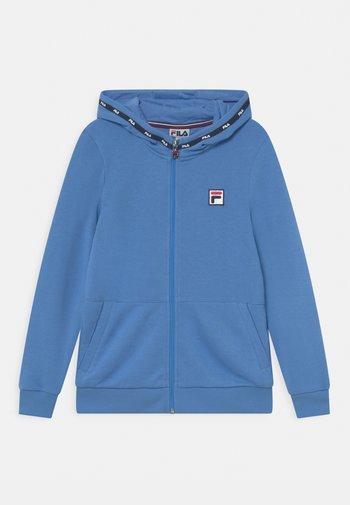 BENNY UNISEX - Zip-up sweatshirt - marina