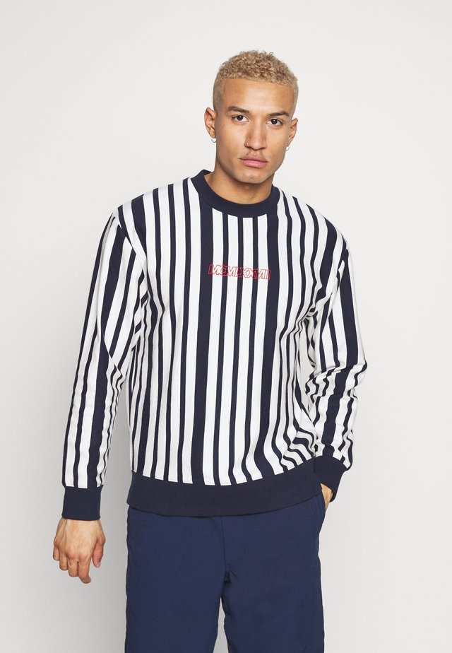 EMBRIODERY - Sweatshirts - navy