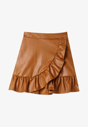 Mini skirts  - camel