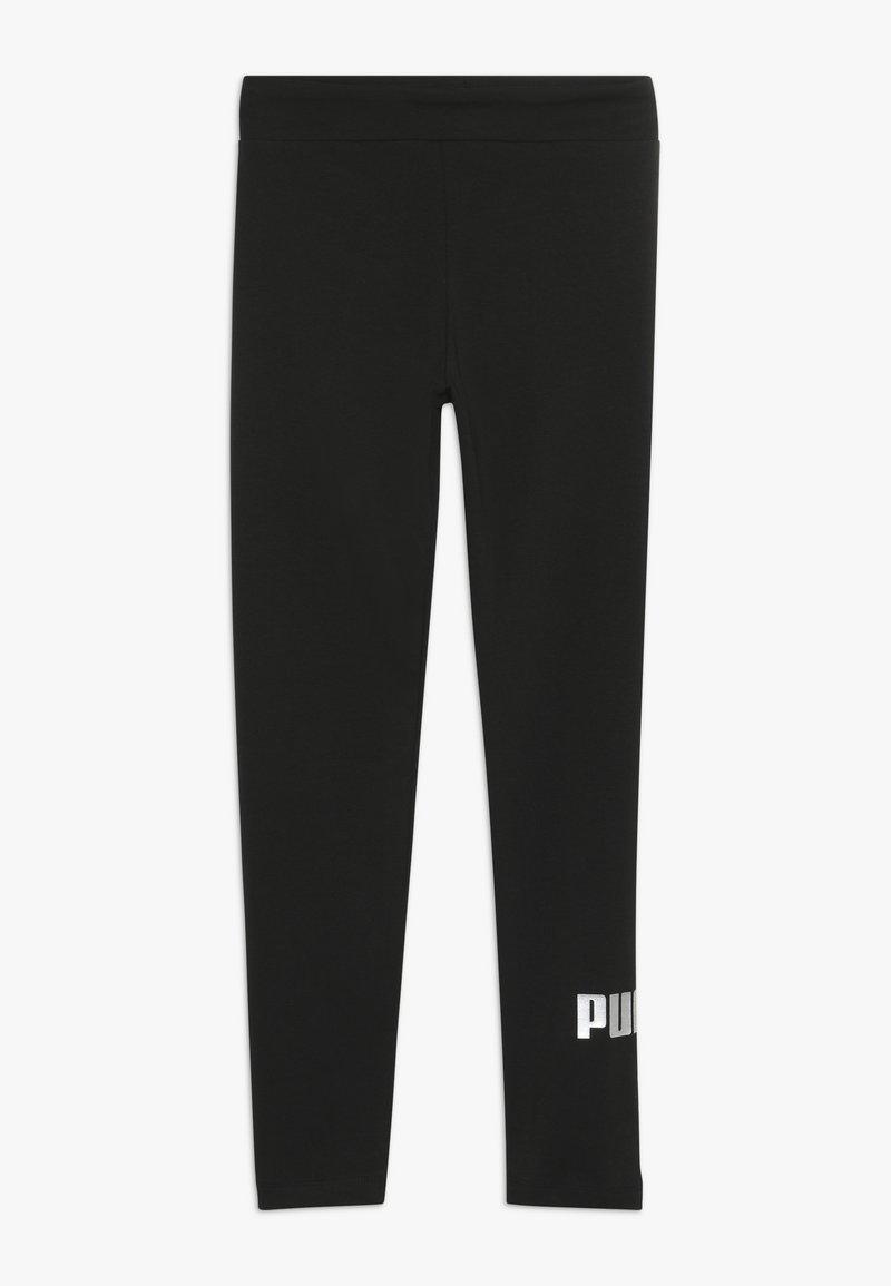 Puma - LOGO LEGGINGS - Punčochy - black