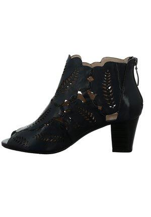 Sandalen met hoge hak - dunkelblau