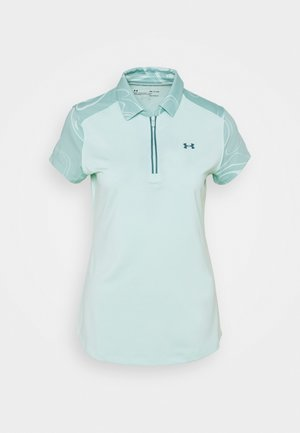 ZINGER ZIP - Sports shirt - seaglass blue