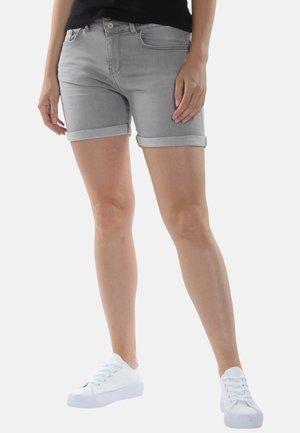 Jeansshort - grau