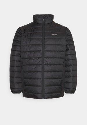 ESSENTIAL SIDE LOGO JACKET - Light jacket - black