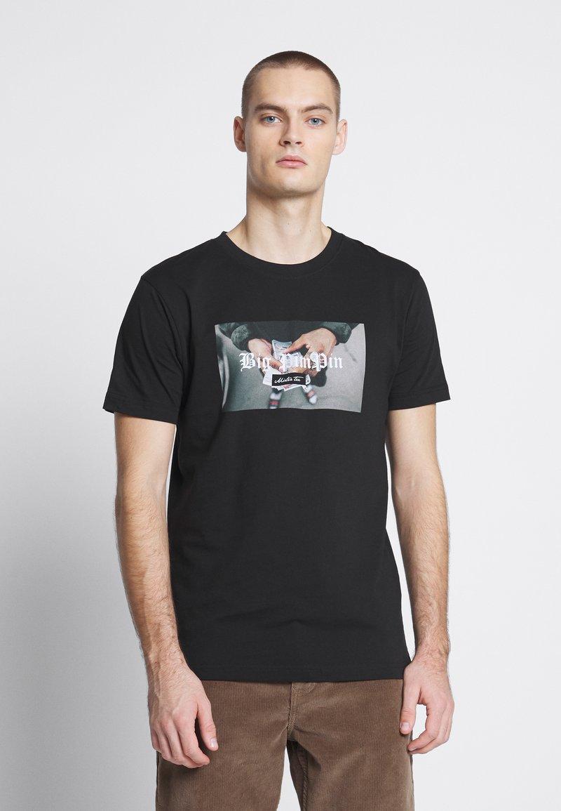 Mister Tee - BIG PIMPIN TEE - T-Shirt print - black