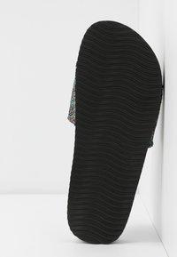 flip*flop - POOL SHIMMER - Pantofle - black - 6
