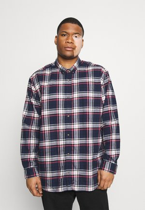 JJECLASSIC CHECK - Shirt - navy blazer