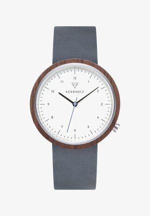 HEINRICH - Watch - blue/brown