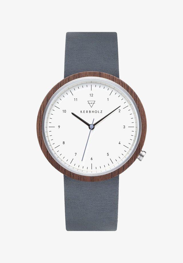 HEINRICH - Uhr - blue/brown