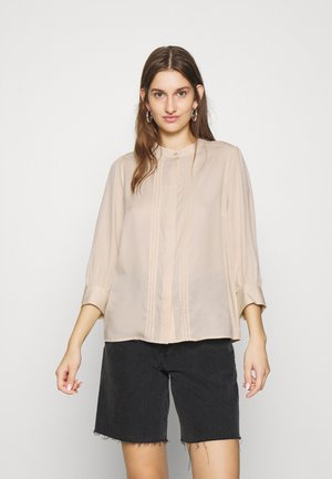 SLFMARIANNA - Button-down blouse - sandshell
