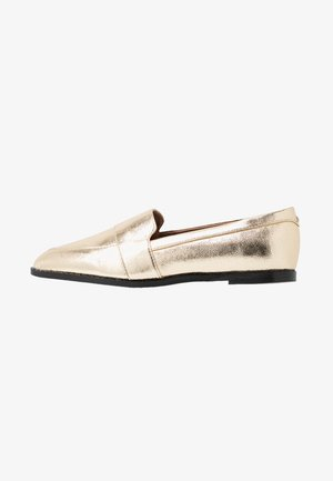 IZABEL VEGAN  - Loaferit/pistokkaat - gold