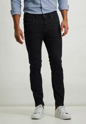 Slim fit jeans - dark blue plain