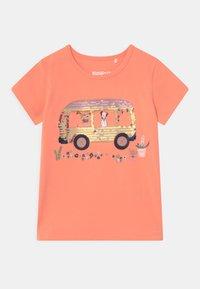 Staccato - KID - Print T-shirt - light orange - 0