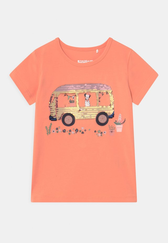 KID - T-shirt print - light orange