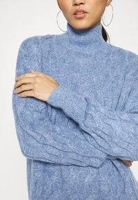 GAP - JAC CABLE SLOUCHY - Jumper - denim blue heather - 3
