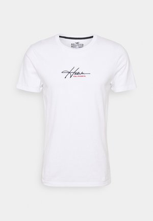 TECH SOLIDS EMEA - Print T-shirt - white