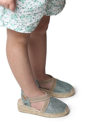 EDITA - Wedge sandals - mint