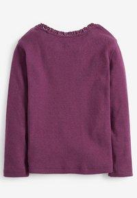 Next - BRUSHED POINTELLE - Longsleeve - purple - 1